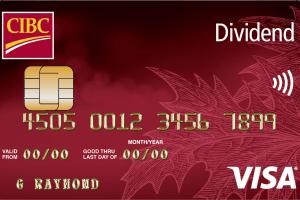 CIBC Dividend® Visa* Card-Product Image