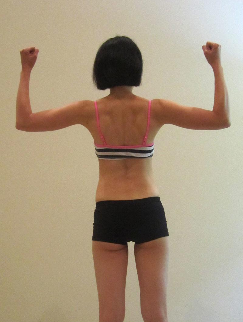 Flexed back - Jan 9, 2013