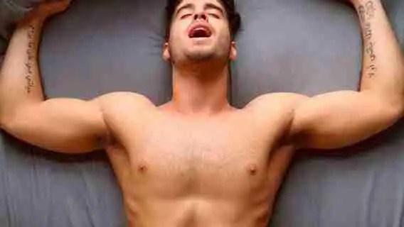 orgasm in a man