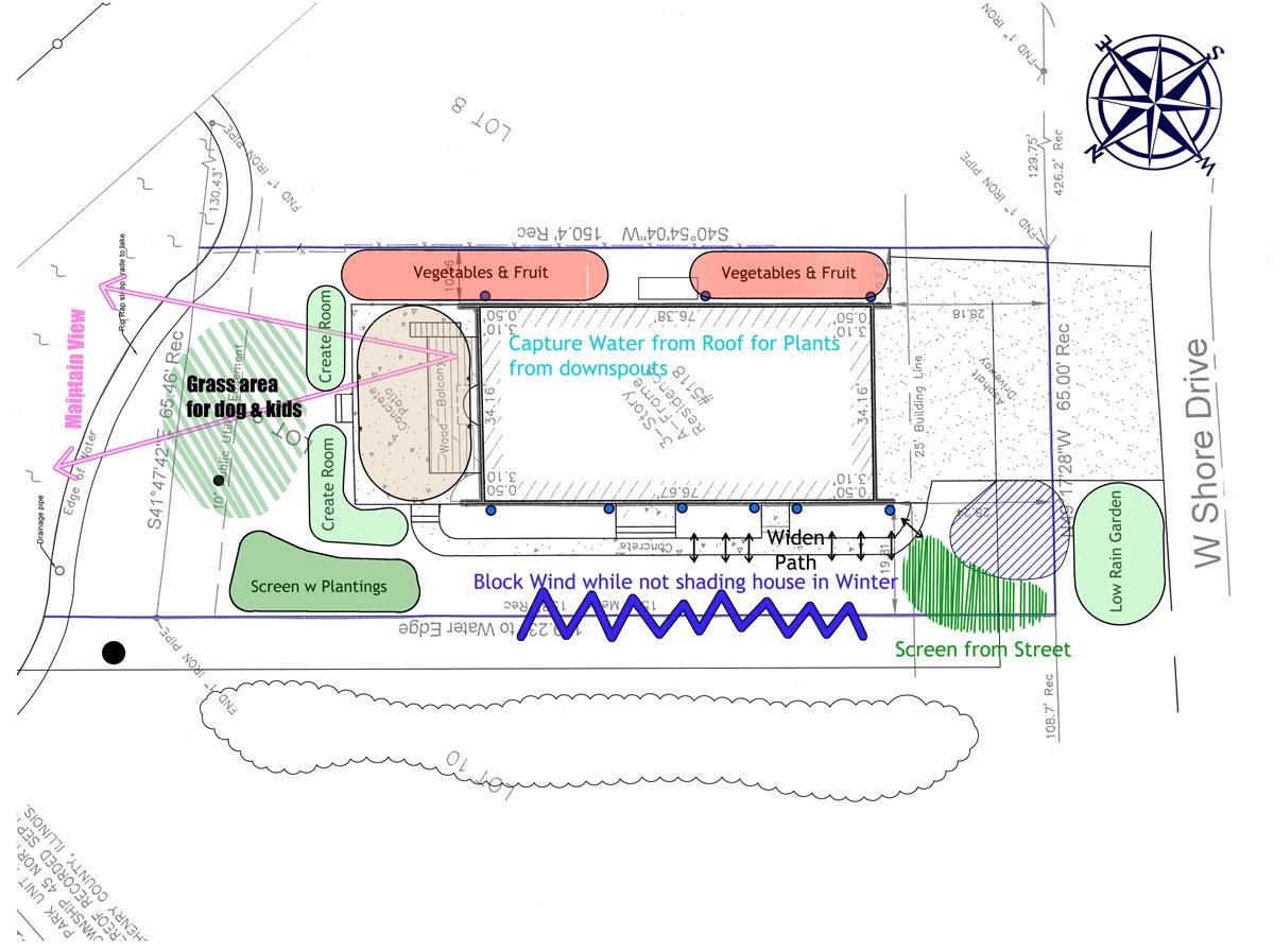 hight resolution of landscape architecture diagram
