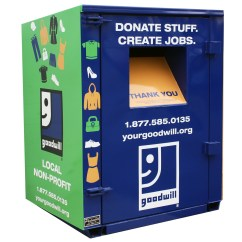 Donate Kitchen Cabinets Maple Table Goodwill Donation Bins 627 N Cameron St Harrisburg Pa 17101
