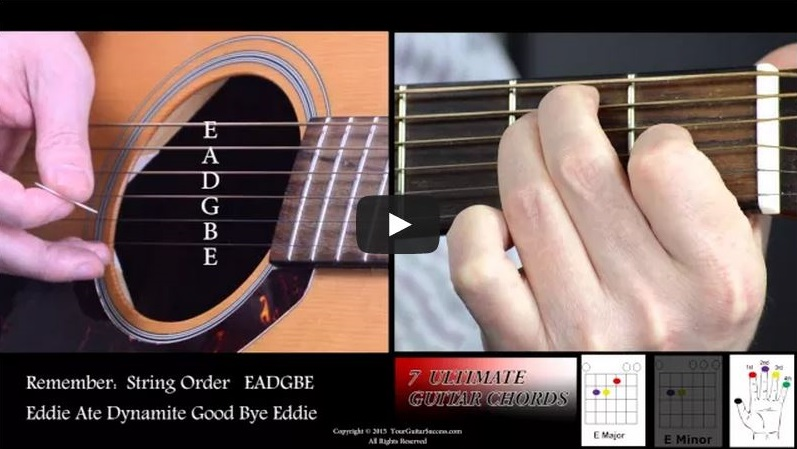 7 Ultimate Guitar Chords For Beginners Course Lesson 3