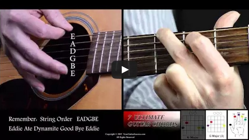 7 Ultimate Guitar Chords For Beginners Course Lesson 5