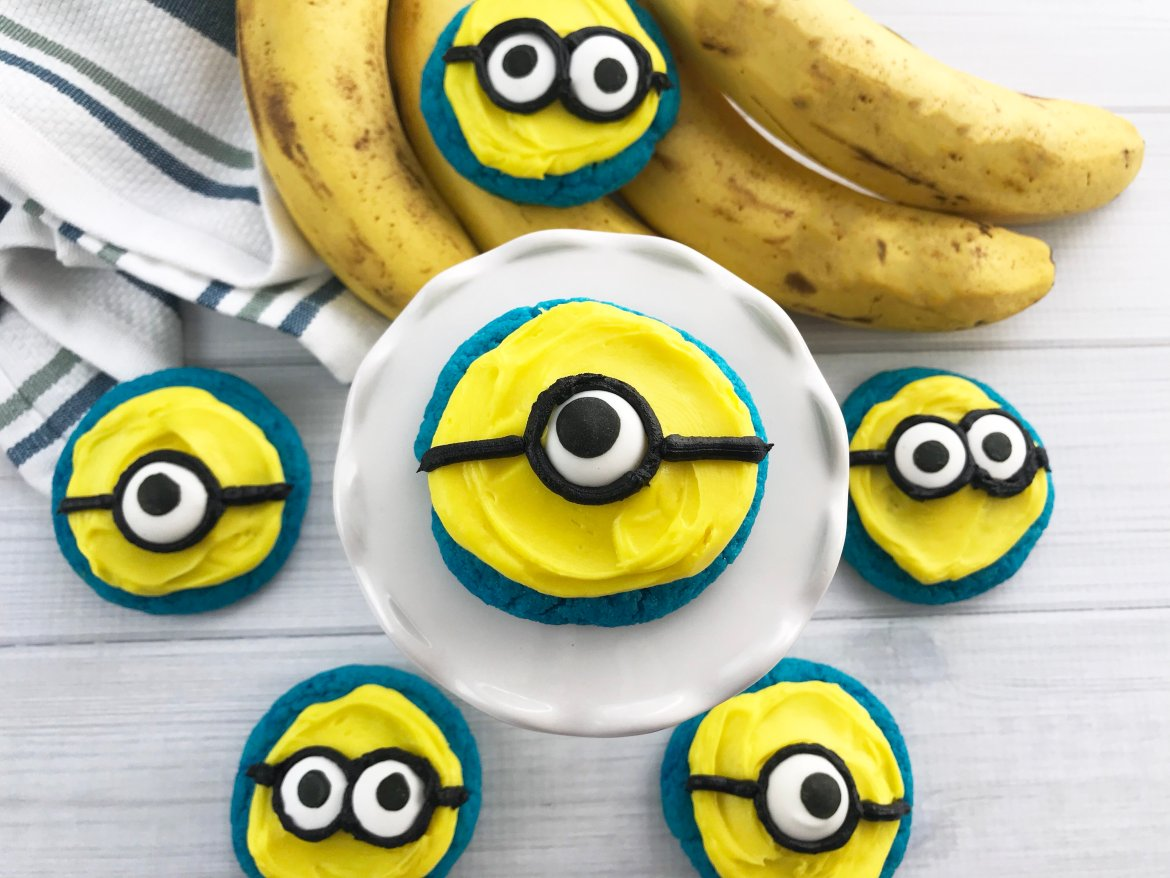 Despicable Me Minions Cookie Recipe