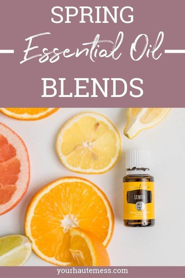 I think we are all in need of a little spring after this crazy winter. Here are some of my favorite spring essential oil blends for your home! #youngliving #essentialoils #diffuserblends