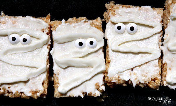 Mummy Rice Krispies Treats – Gluten Free and Vegan