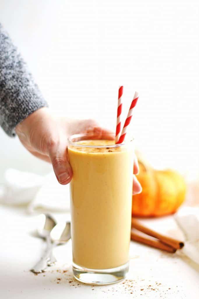 Pumpkin Spice Probiotic Smoothie
