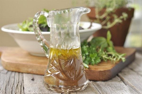 Herb Infused Balsamic Vinaigrette dressingitup Your