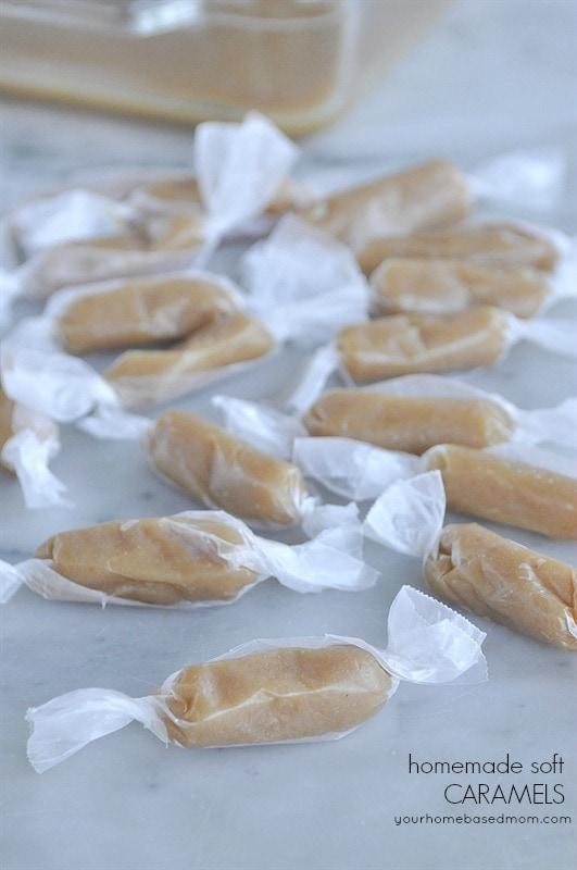 Homemade Soft Caramels your homebased mom