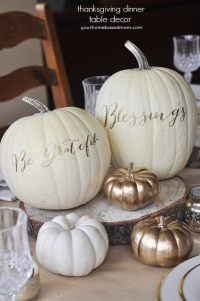 Thanksgiving Table Decor Ideas - your homebased mom