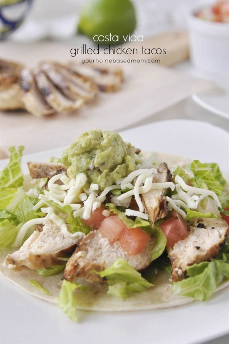 Costa Vida Grilled Chicken Tacos