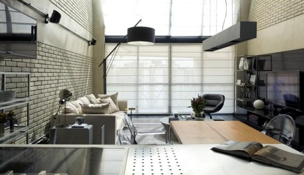 Industrial Loft designet by Diego Revollo 3