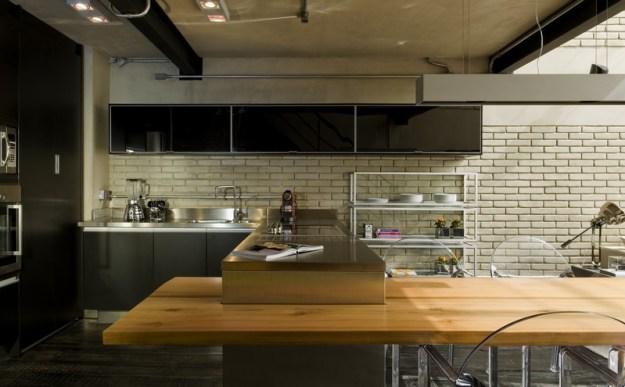 Industrial Loft designet by Diego Revollo 8