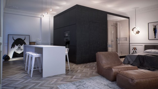 Interior MA project created by INT2 Architecture 2