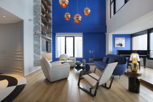 Blue Penthouse designed by Dariel Studio 3