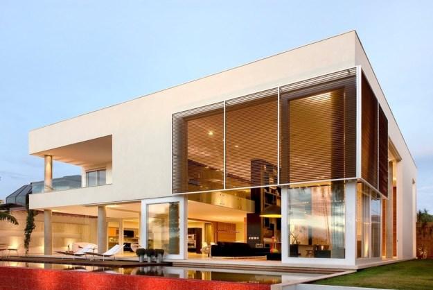 Capital House designed by Ney Lima Architect 2