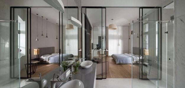 The Podil Loft Apartment designed by Sergey Makhno 14