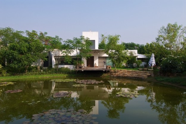 The Lake House designed by Hiren Patel Architects 1