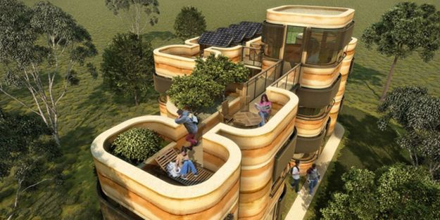 Modular Eco-House System 4