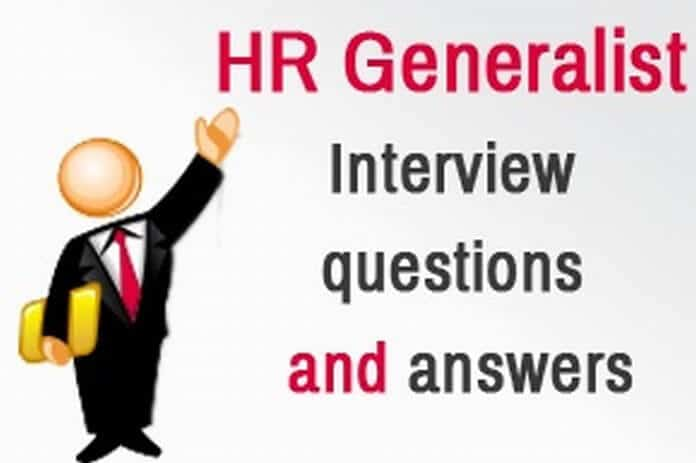 Interview Questions And Answers Hr Generalist | Como Hacer Un
