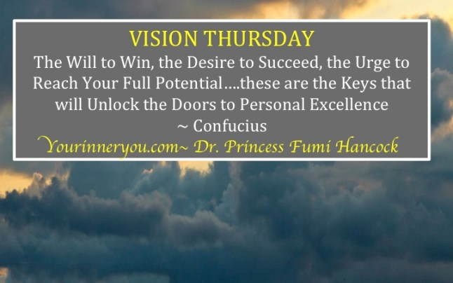 YourVisionThursday - Keys to Success