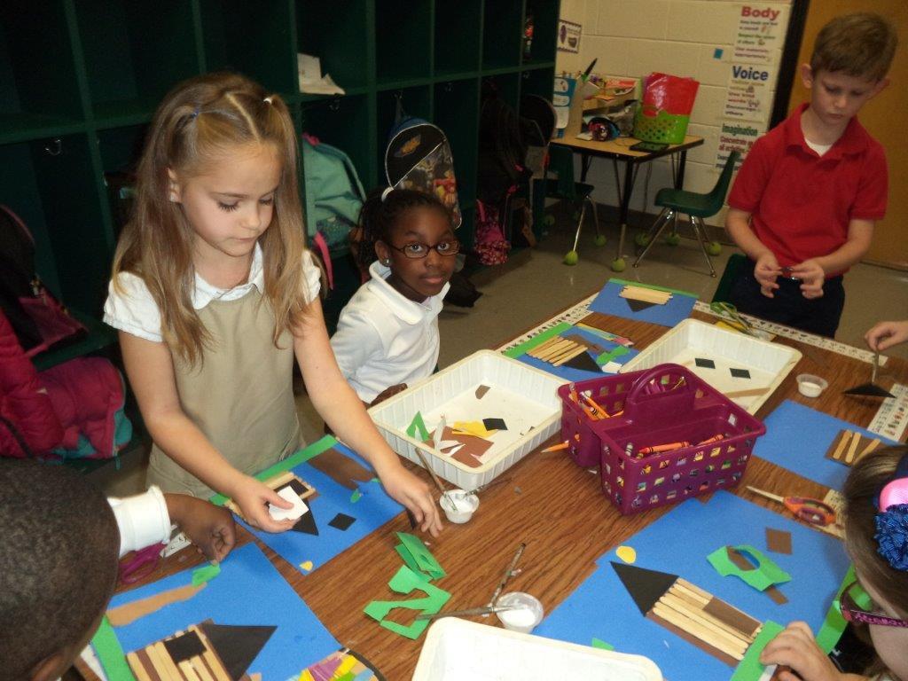 Art Integration At Lady S Island Elementary Benefits Students Beaufort South Carolina The