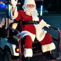 Golf Cart Headlights Parts Of A Pocket Knife Diagram Santa Arrives By In Port Royal – Beaufort South Carolina The Island News