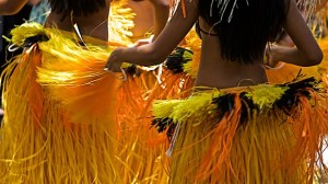 Hula dancers in hawaii