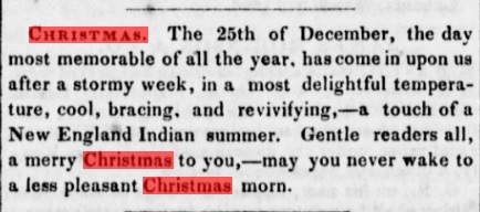 christmas hawaii 1846