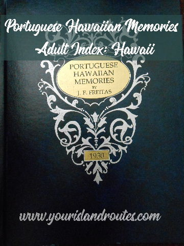 portuguese hawaiian memories index hawaii