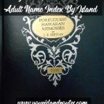 Portuguese Hawaiian Memories Adult Name Index By Island