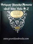 Portuguese Hawaiian Memories Index:  Oahu M-Z