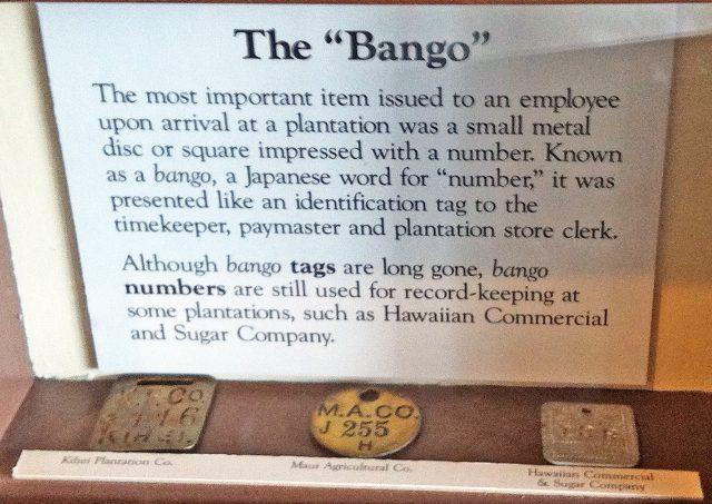 bango number system hawaii