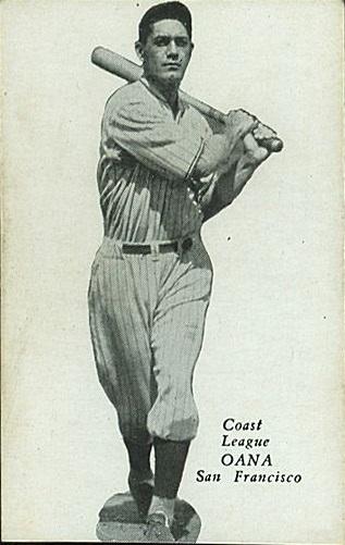 henry oana portuguese hawaiian baseball player 1932