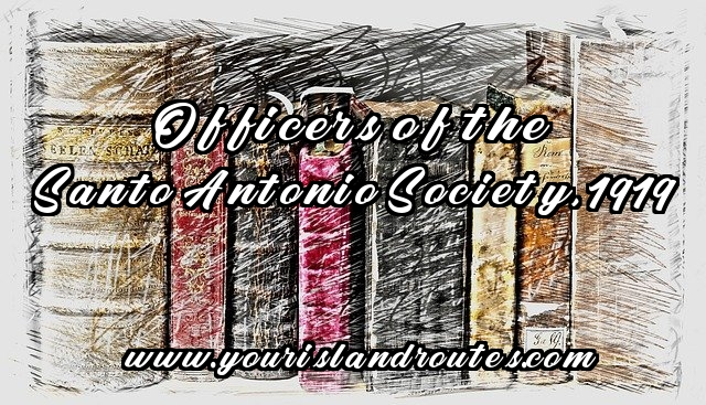 books officers of santo antonio society