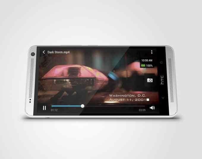HTC One max Glacial Silver Horizontal Oblique HTC One Max Ufficiale: Scheda tecnica completa del nuovo Phablet di HTC
