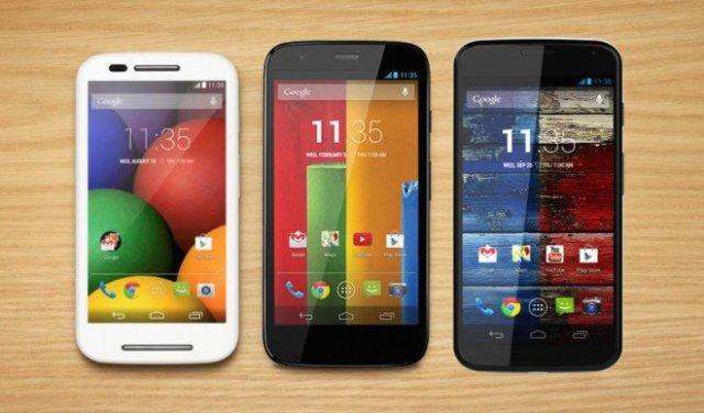 Motorola Moto G, E, X
