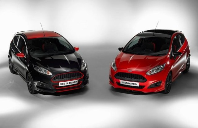 Zetec S Red e Black Edition