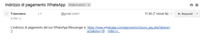 Mail WhatsApp