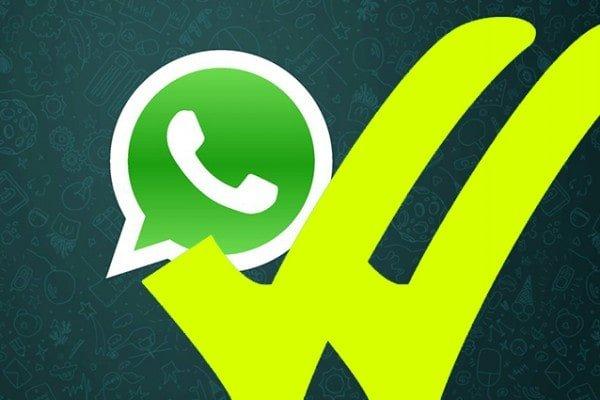 Doppia Spunta Gialla Whatsapp