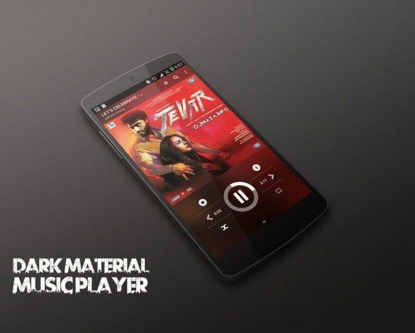 Dark-Material-Music-Player-CM12-1-585x470