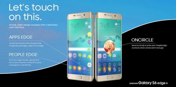 Samsung Galaxy edge+ 3