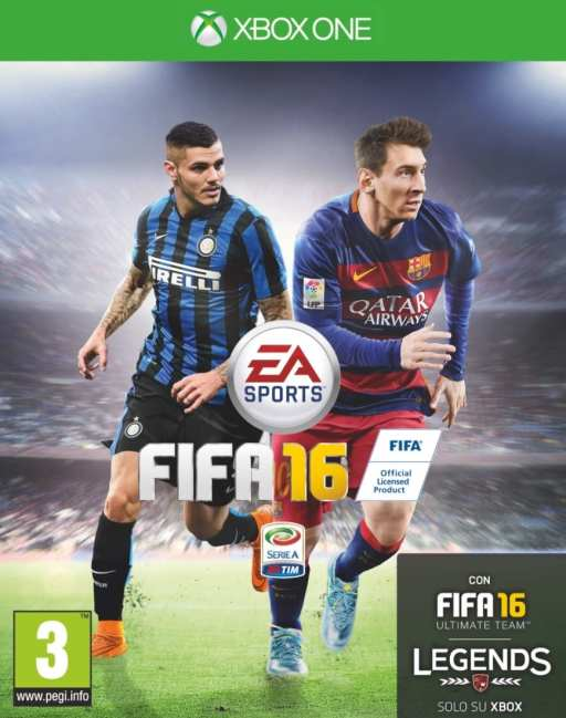 FIFA 16 Copertina