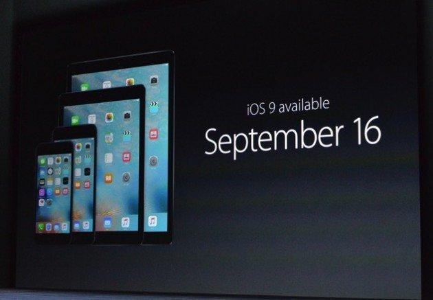 Data di rilascio di iOS 9, OS X El Capitan e WatchOS 2