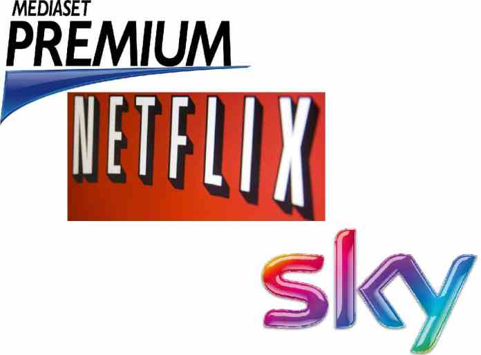 Netflix vs Mediaset vs Sky