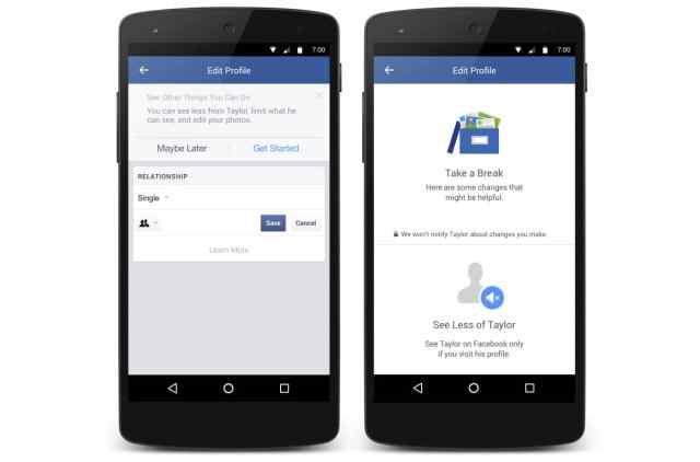 Cancellare ed eliminare l'ex da Facebook è finalmente possibile