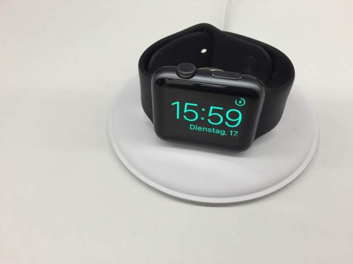 Ecco la nuova dock di ricarica per Apple Watch