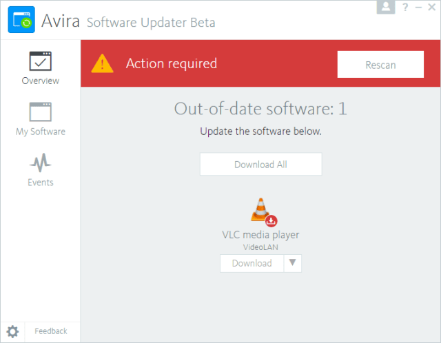 Avira-Software-Updater