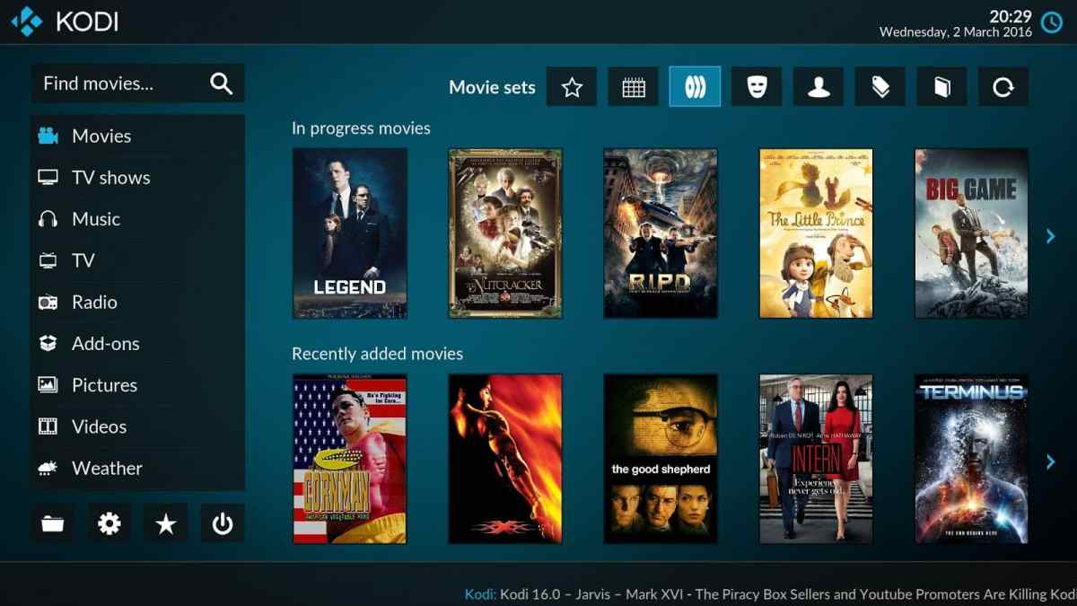 Download Kodi 17.1 Portable Italiano con addons installati