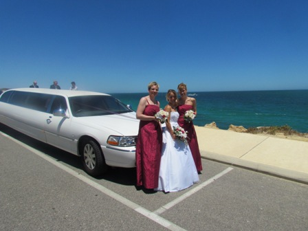 Iluka wedding Limo